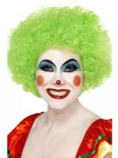 Clown Wig In Green